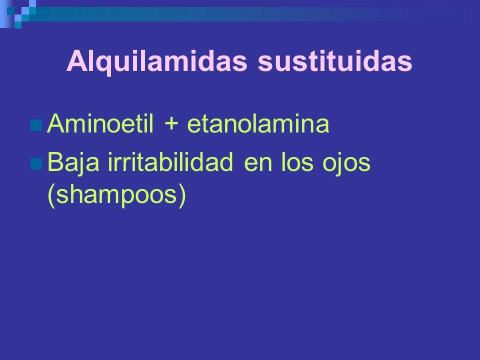 Alquilamidas sustituidas