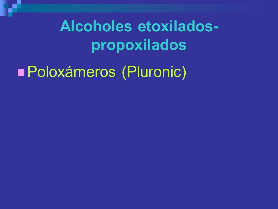 Alcoholes etoxilados-propoxilados