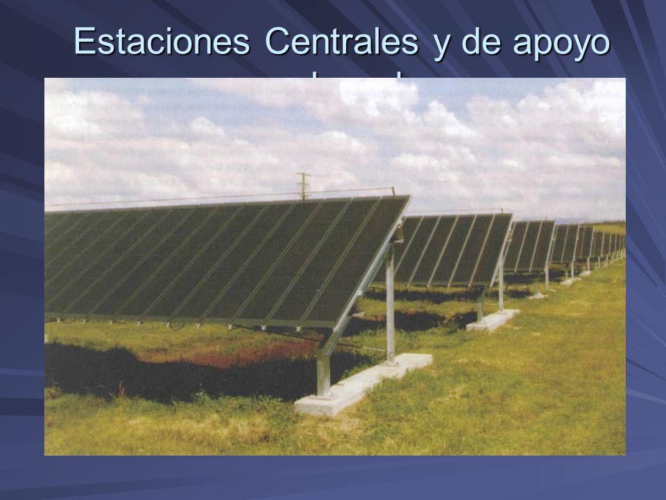 Estaciones Centrales y de apoyo a la red