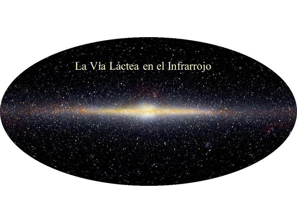 La Vía Láctea en el Infrarrojo
