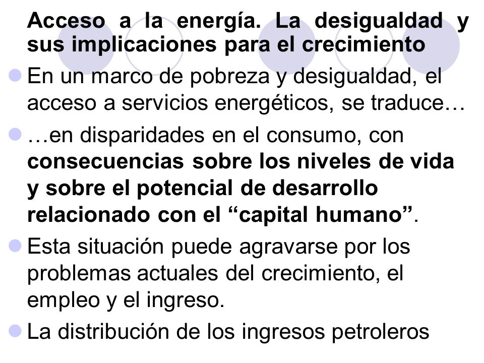 La distribución de los ingresos petroleros