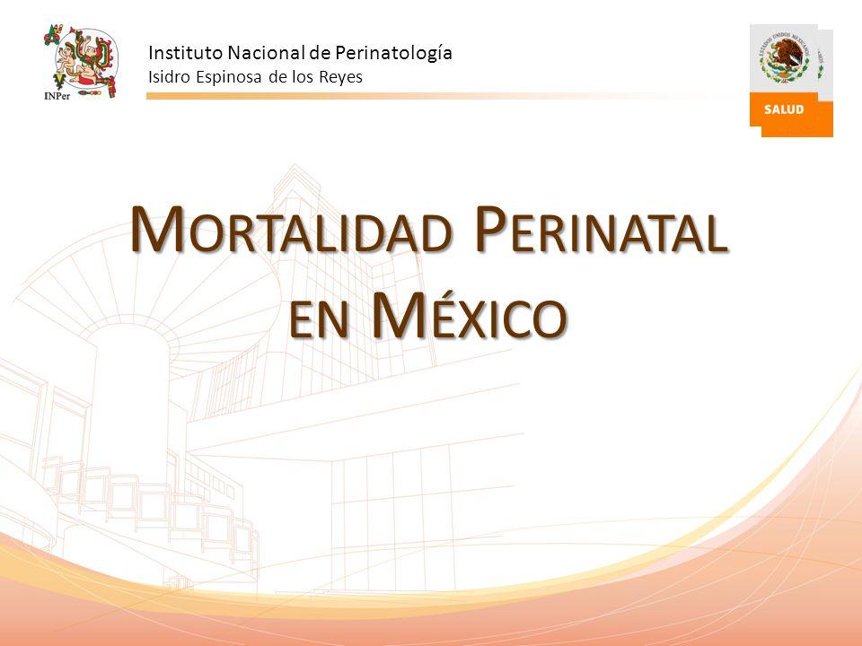 Mortalidad Perinatal en México