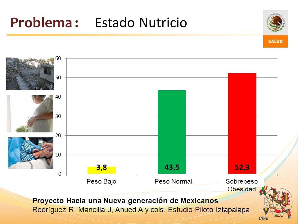 Problema : Estado Nutricio