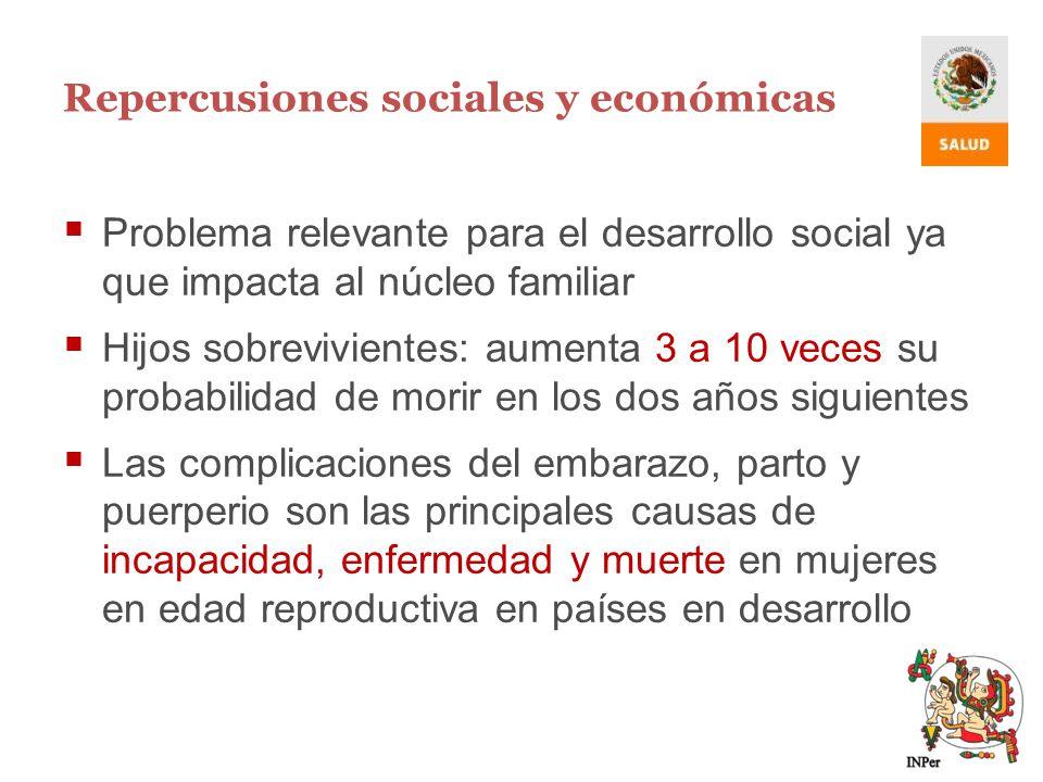 Repercusiones sociales y económicas