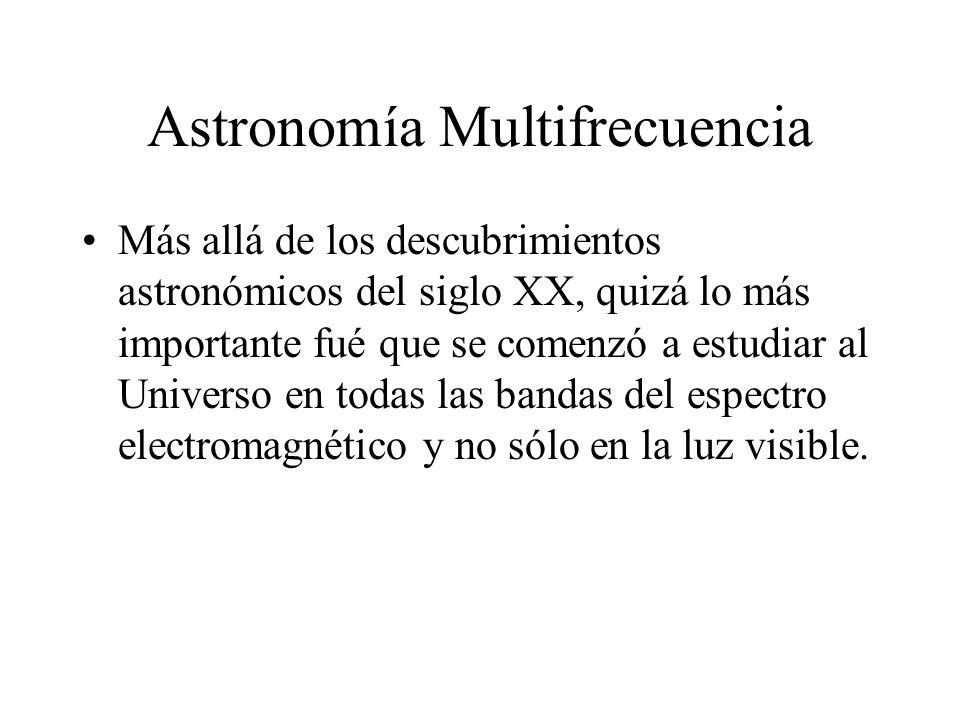 Astronomía Multifrecuencia