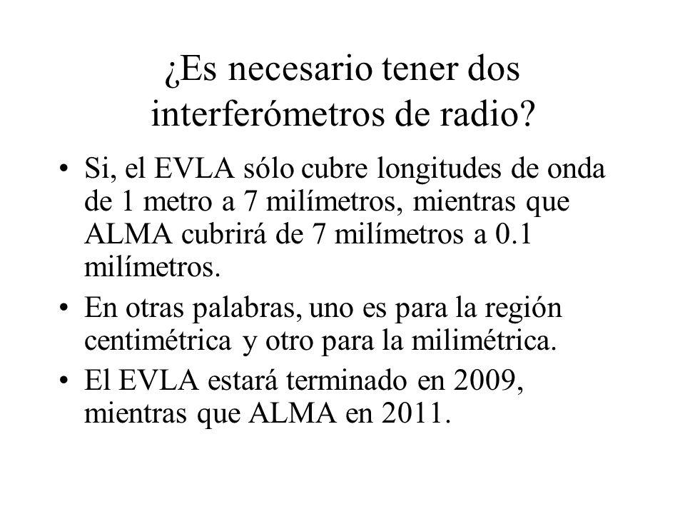 ¿Es necesario tener dos interferómetros de radio