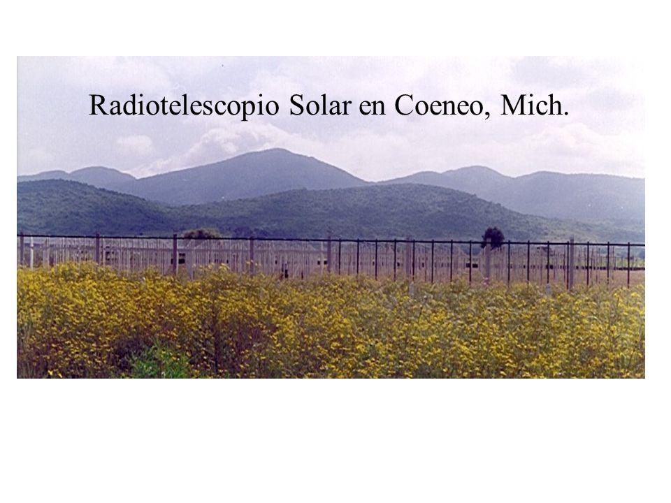 Radiotelescopio Solar en Coeneo, Mich.