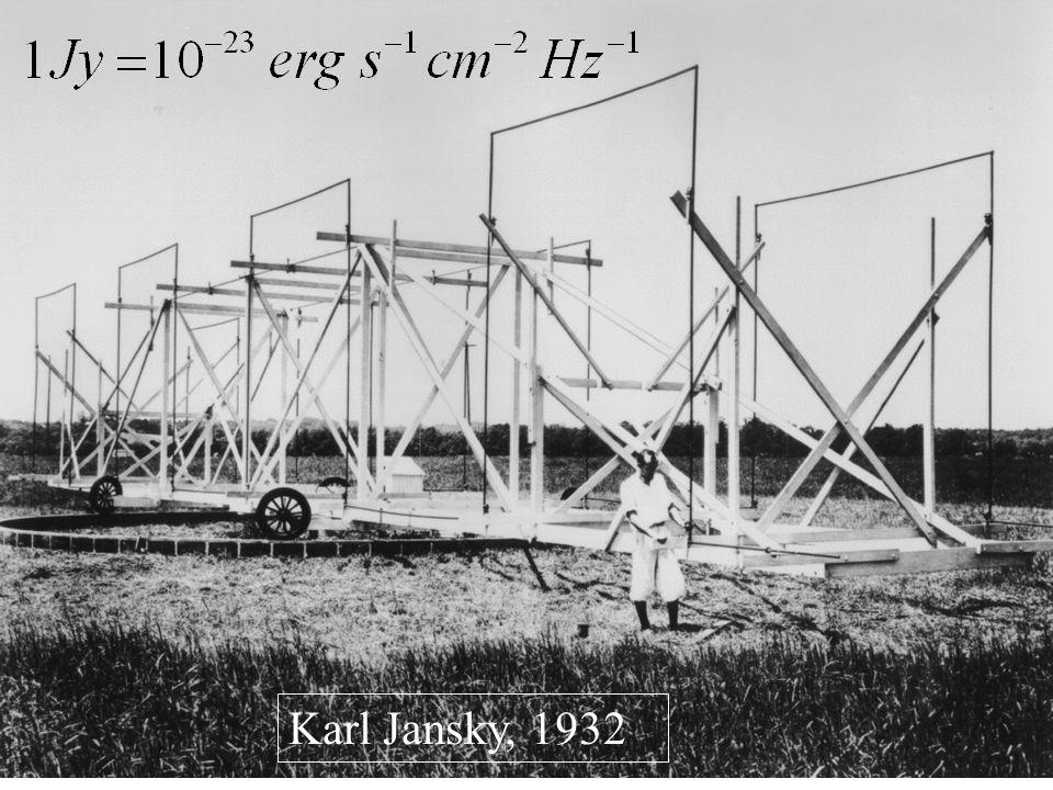 Karl Jansky, 1932