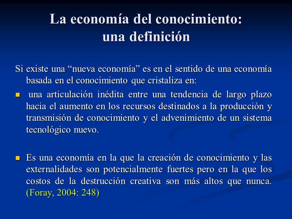 La economía del conocimiento: una definición