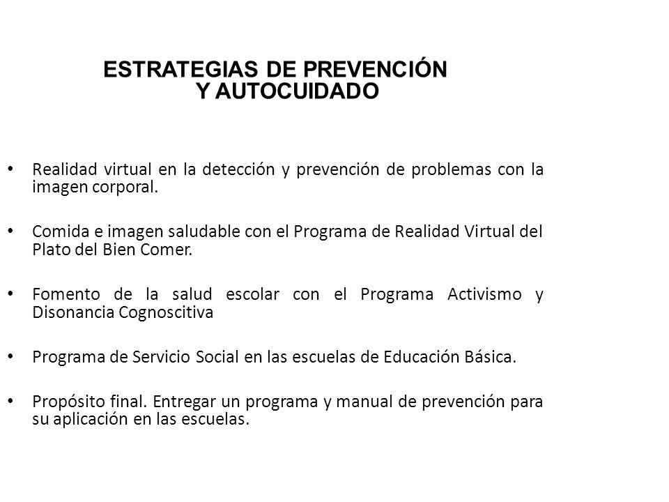 ESTRATEGIAS DE PREVENCIÓN Y AUTOCUIDADO