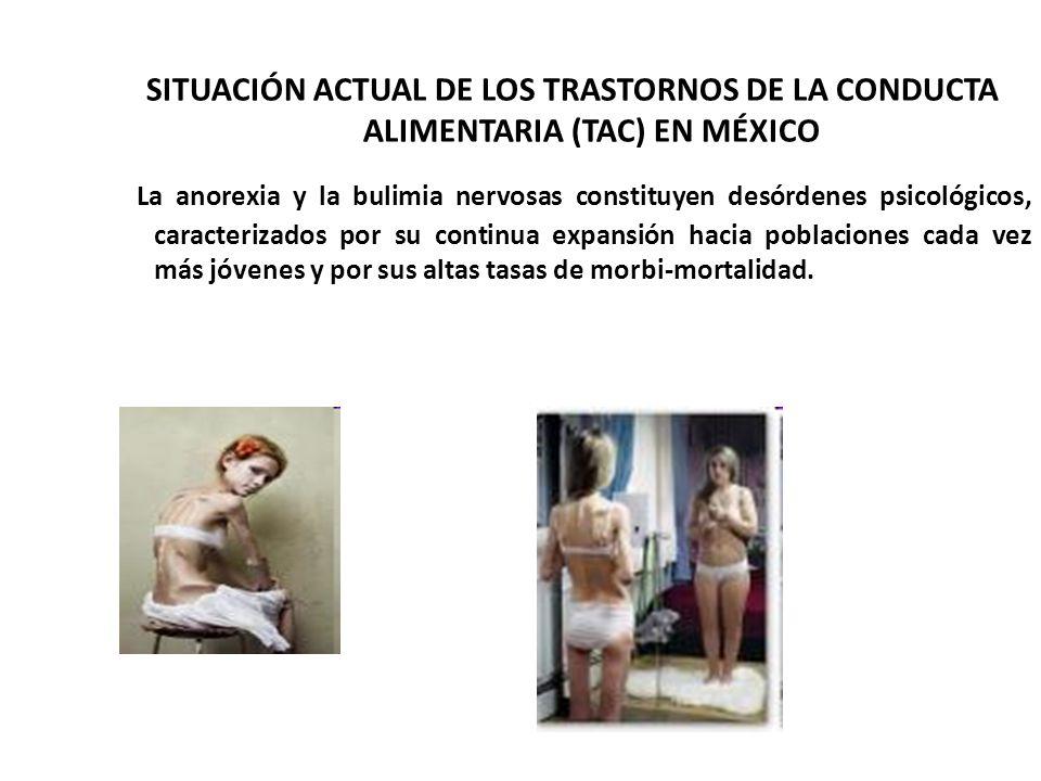 SITUACIÓN ACTUAL DE LOS TRASTORNOS DE LA CONDUCTA ALIMENTARIA (TAC) EN MÉXICO