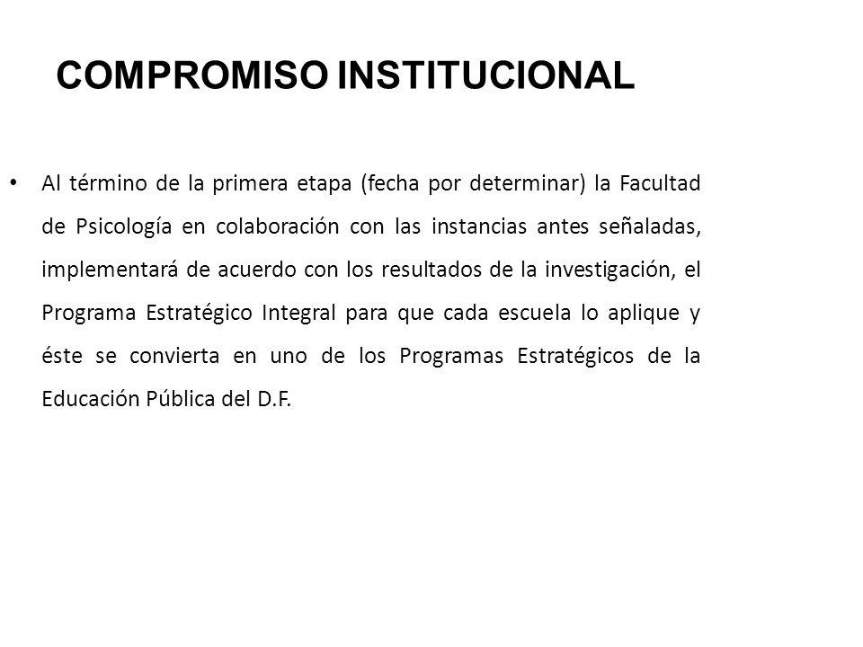 COMPROMISO INSTITUCIONAL