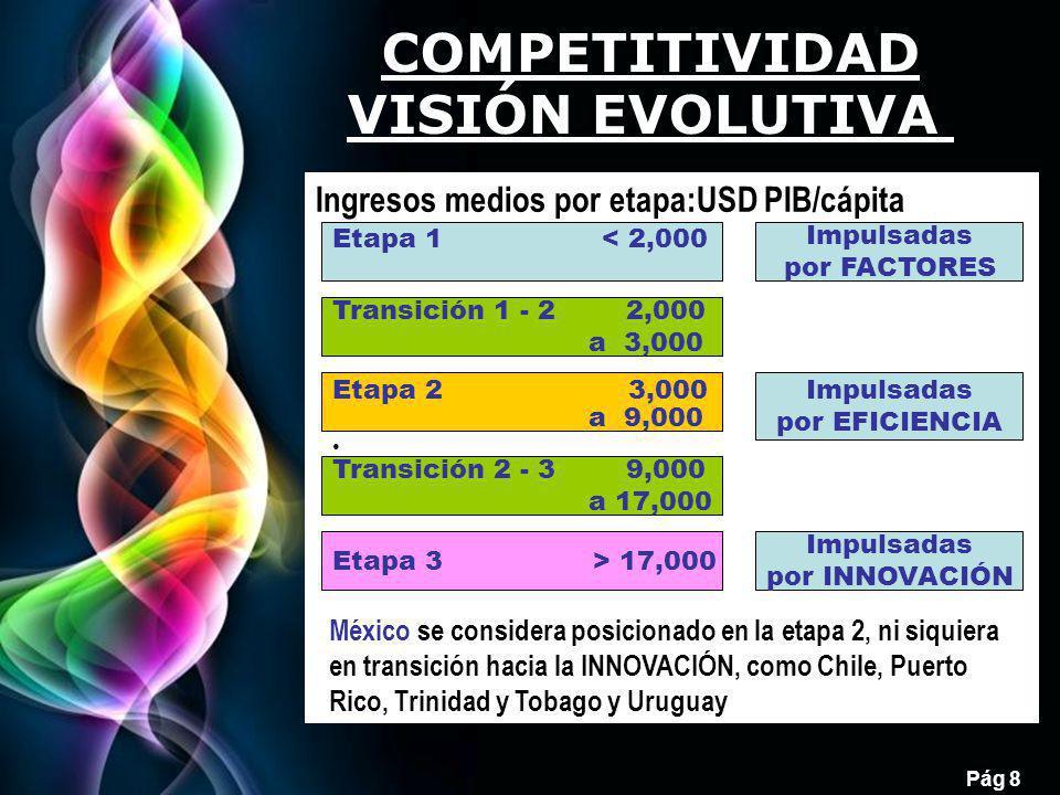COMPETITIVIDAD VISIÓN EVOLUTIVA