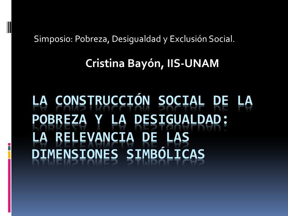 Cristina Bayón, IIS-UNAM