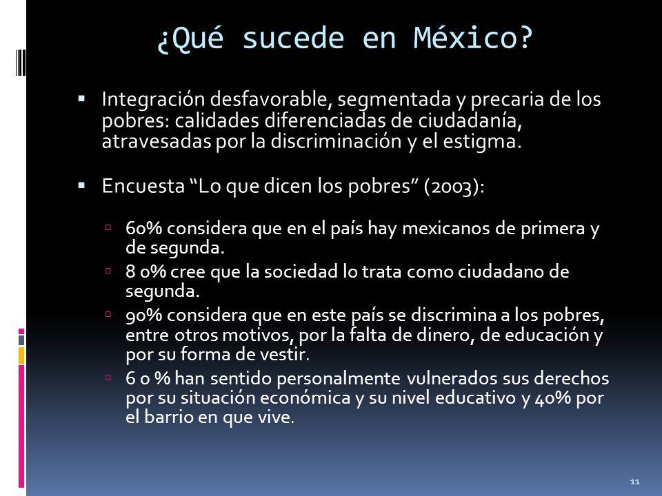 ¿Qué sucede en México