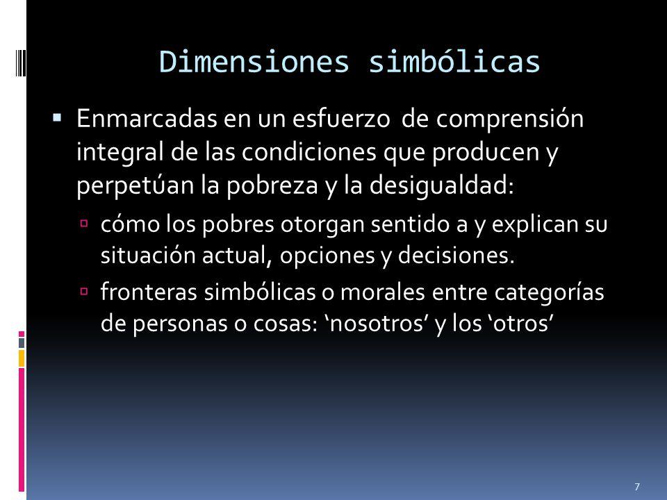 Dimensiones simbólicas