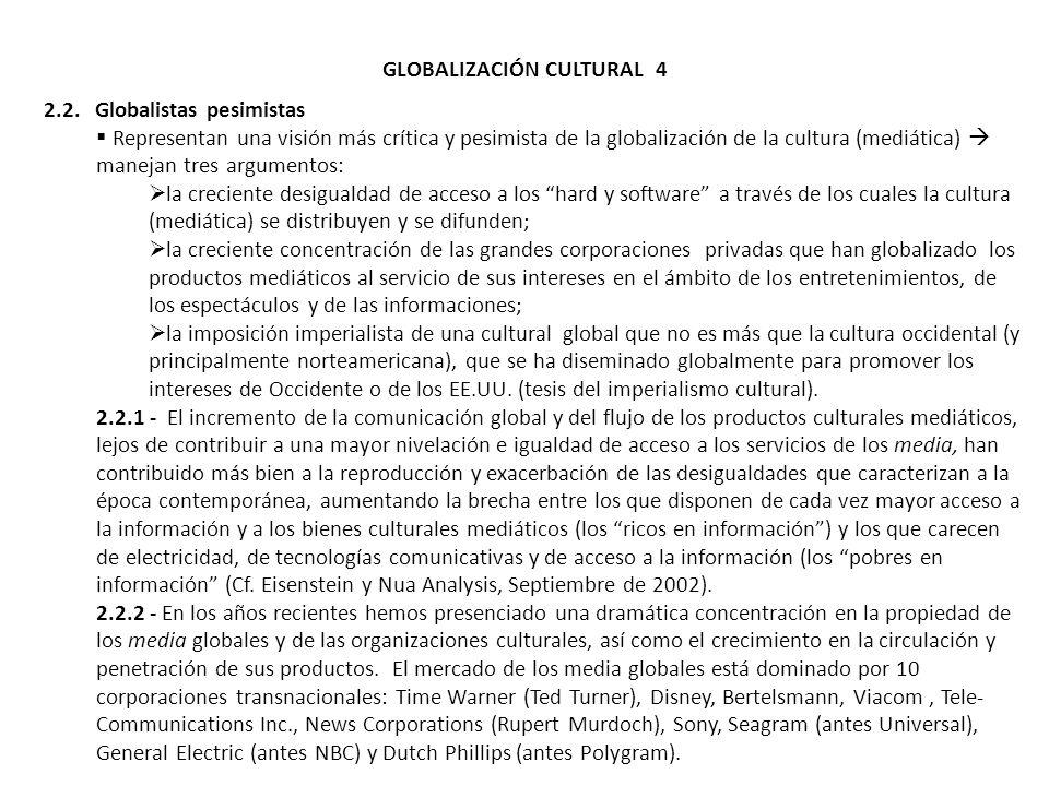 GLOBALIZACIÓN CULTURAL 4