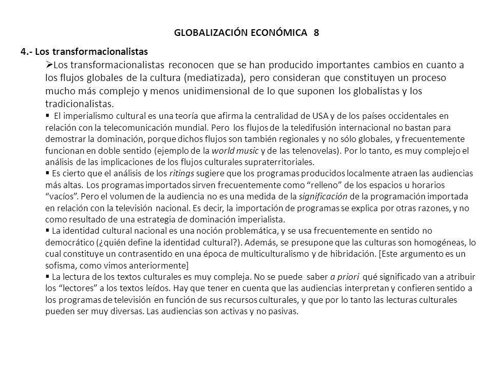 GLOBALIZACIÓN ECONÓMICA 8