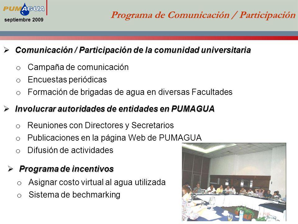 Programa de Comunicación / Participación