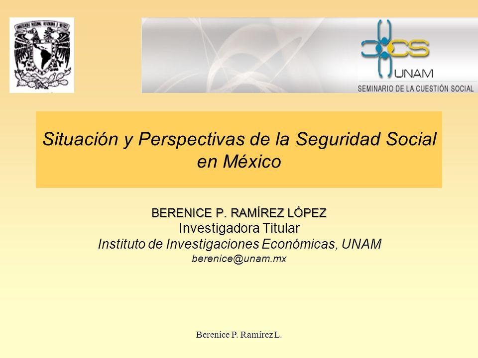 Situación y Perspectivas de la Seguridad Social en México