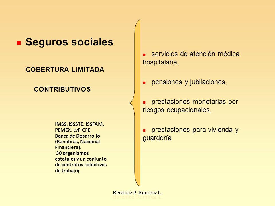 Seguros sociales COBERTURA LIMITADA