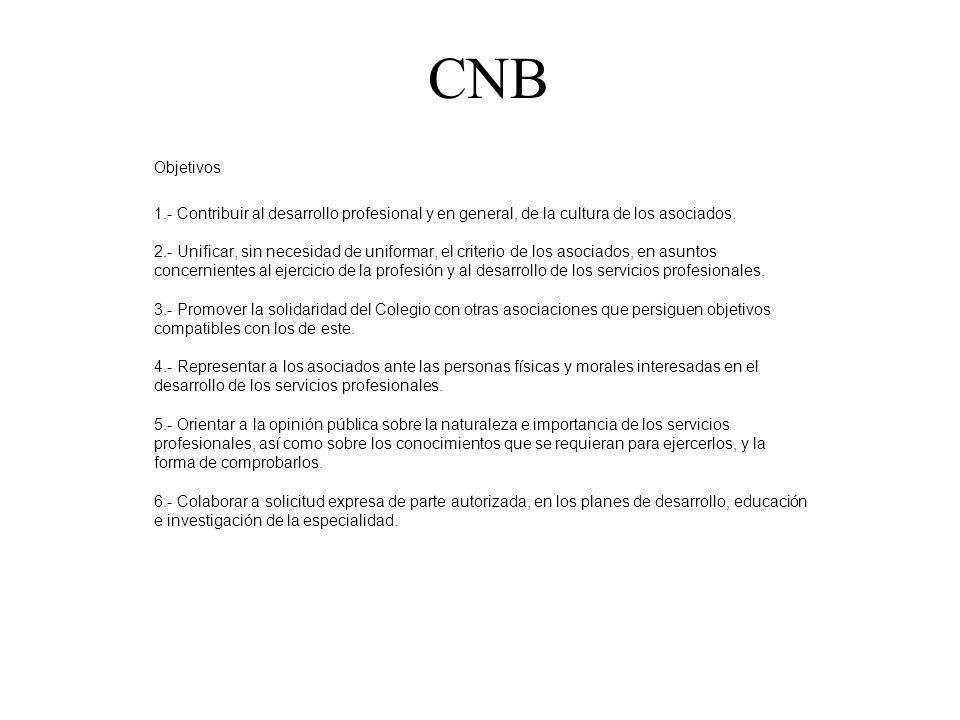 CNB Objetivos.
