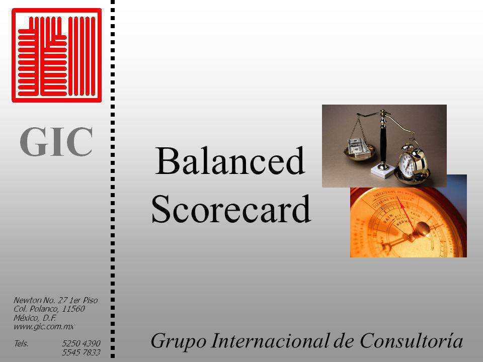 Balanced Scorecard Newton No. 27 1er Piso Col. Polanco, 11560