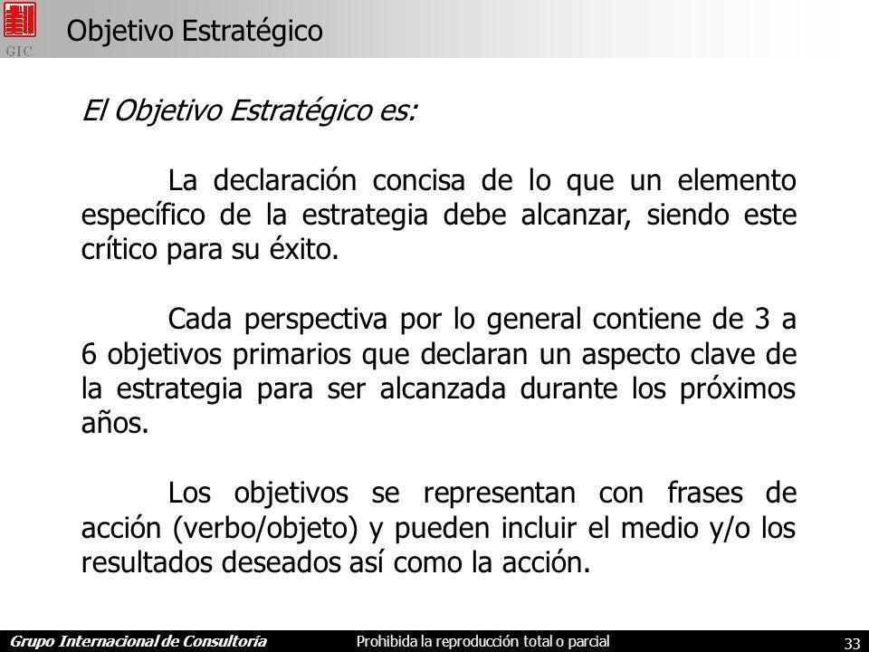 Objetivo Estratégico El Objetivo Estratégico es: