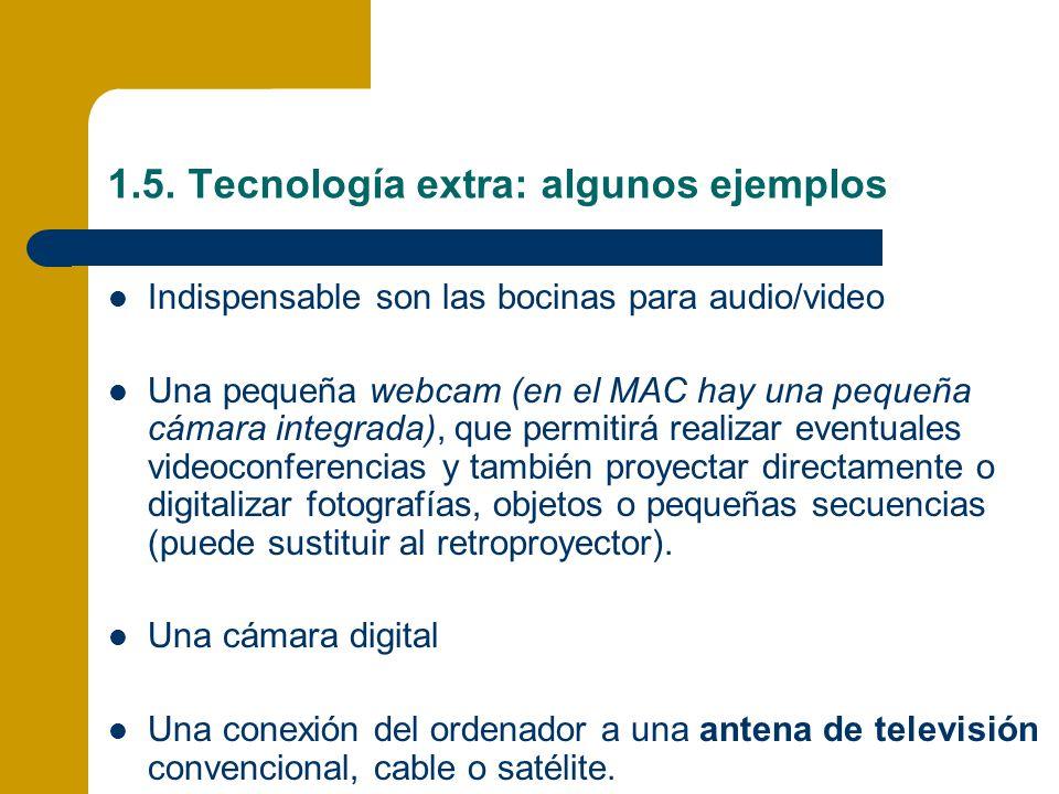 1.5. Tecnología extra: algunos ejemplos