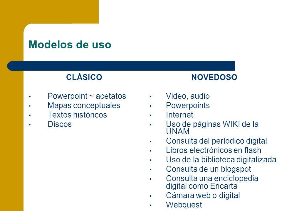Modelos de uso CLÁSICO Powerpoint ~ acetatos Mapas conceptuales