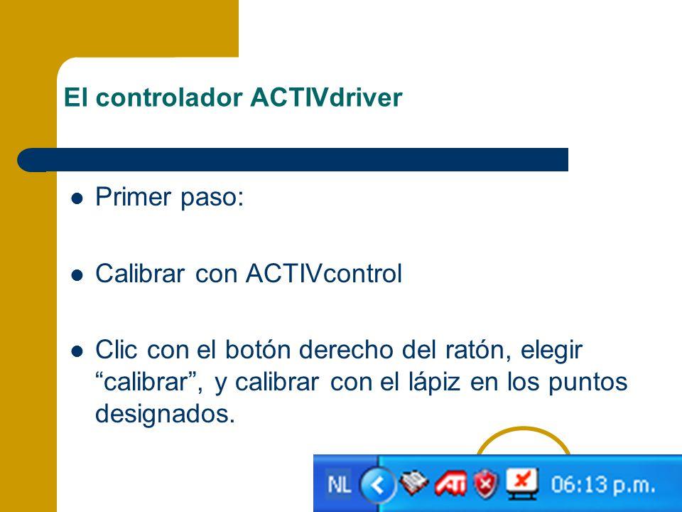 El controlador ACTIVdriver