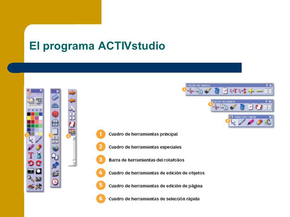 El programa ACTIVstudio