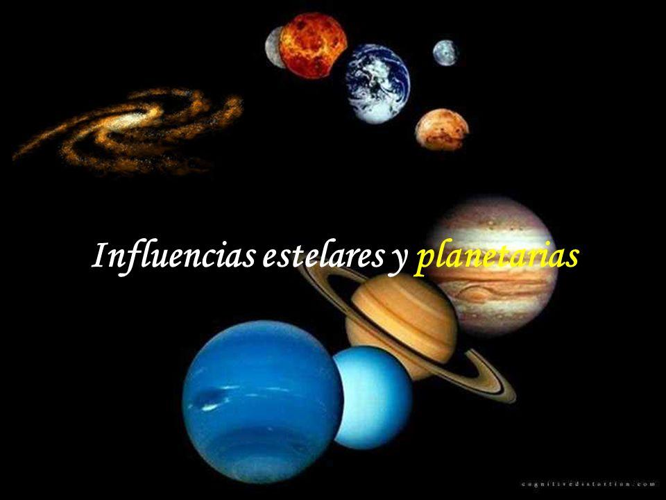 Influencias estelares y planetarias