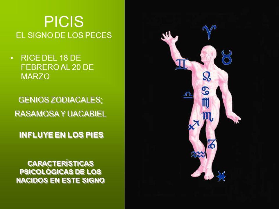 PICIS EL SIGNO DE LOS PECES