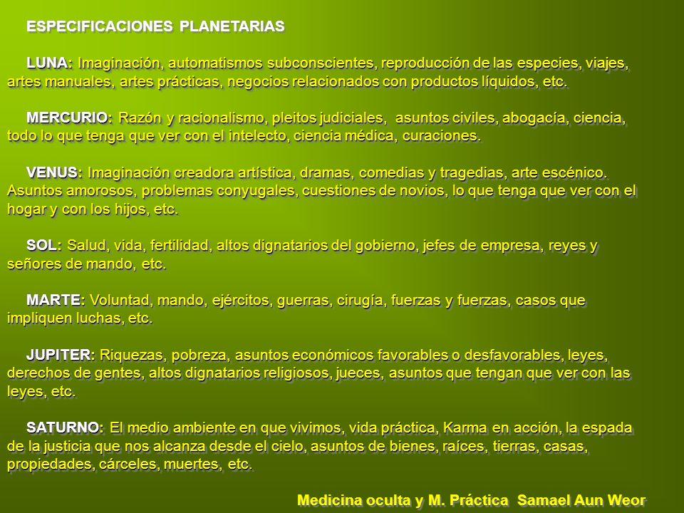 ESPECIFICACIONES PLANETARIAS