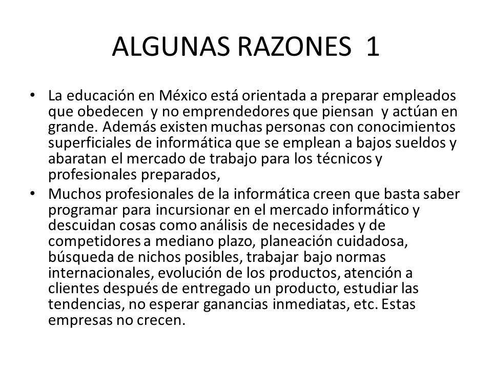 ALGUNAS RAZONES 1