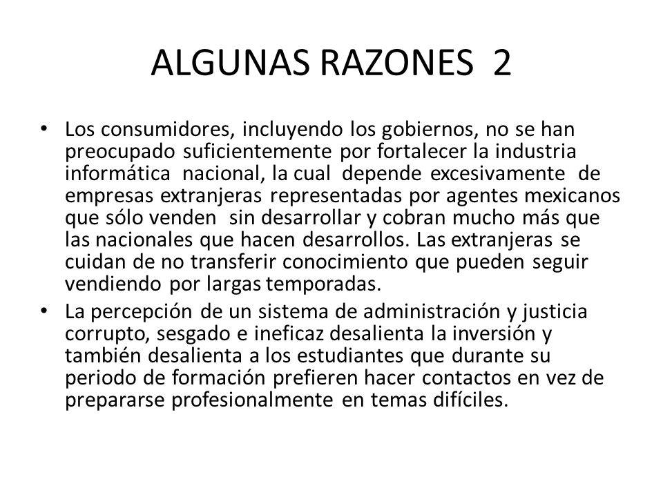 ALGUNAS RAZONES 2