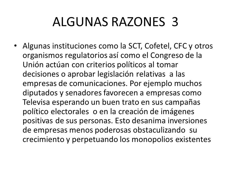 ALGUNAS RAZONES 3