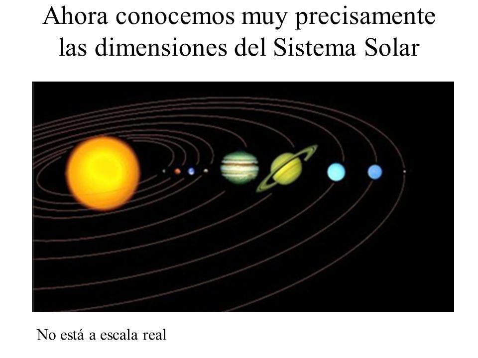 Ahora conocemos muy precisamente las dimensiones del Sistema Solar