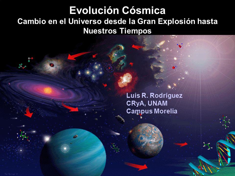 Evolución Cósmica Cambio en el Universo desde la Gran Explosión hasta Nuestros Tiempos