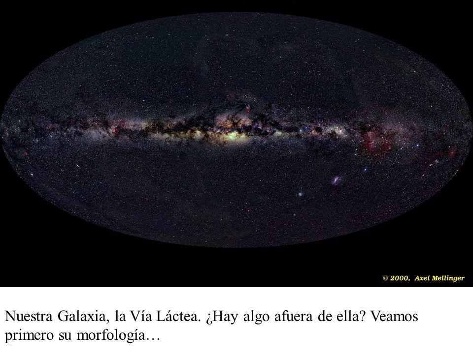 Nuestra Galaxia, la Vía Láctea. ¿Hay algo afuera de ella