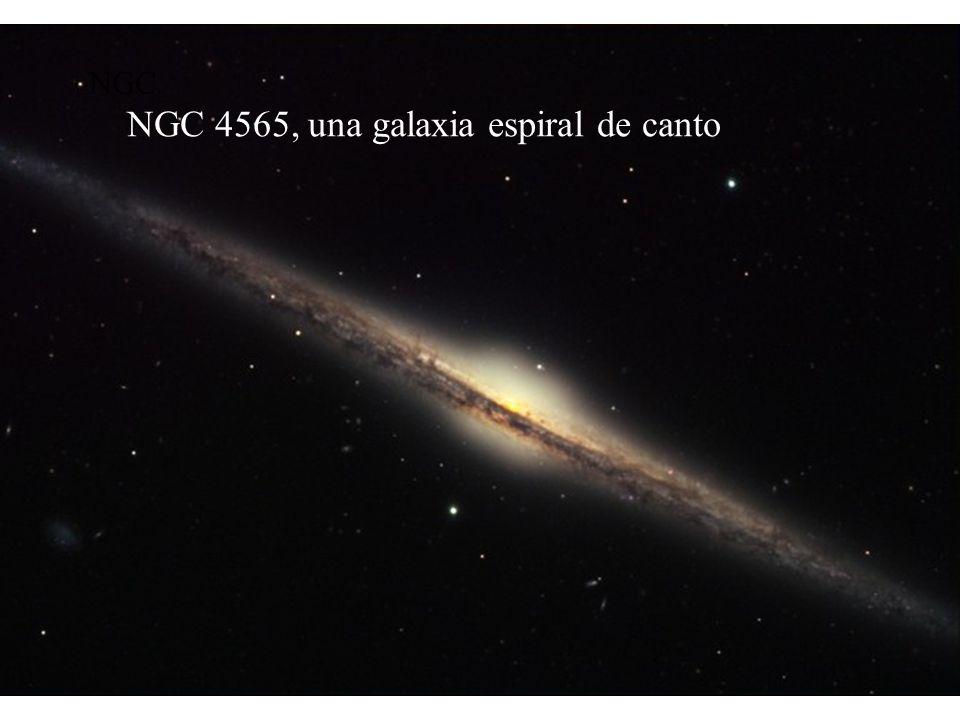 NGC 4565, una galaxia espiral de canto