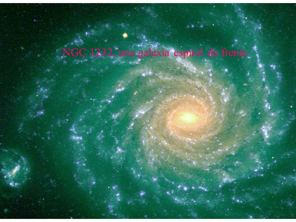 NGC 1232, una galaxia espiral de frente