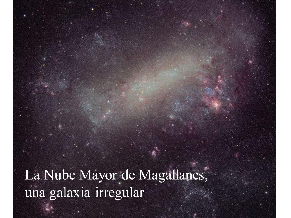 La Nube Mayor de Magallanes, una galaxia irregular