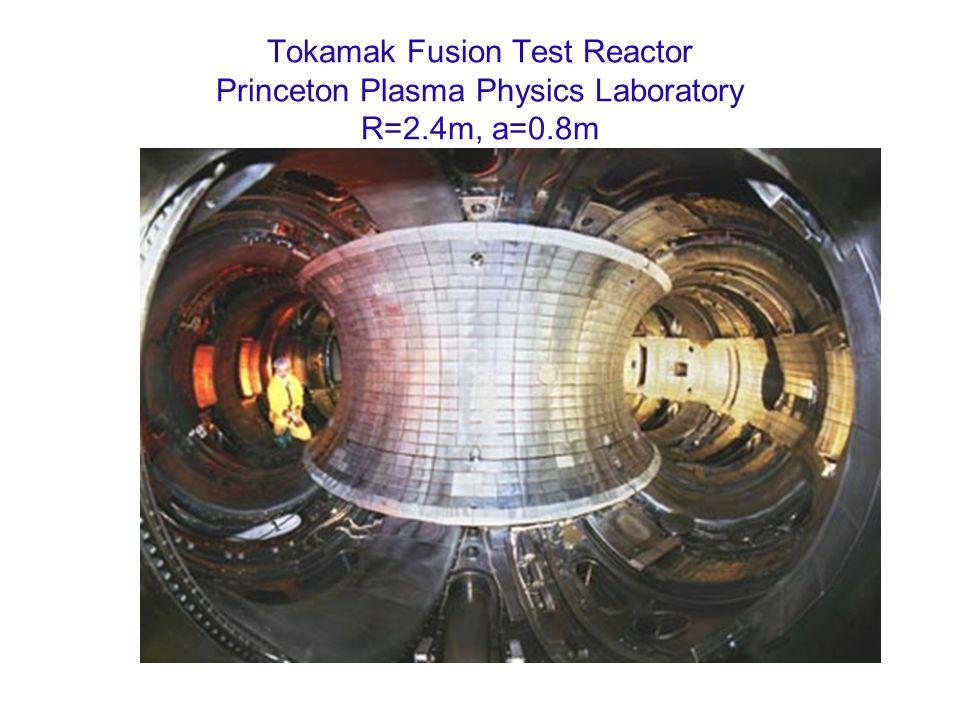 Tokamak Fusion Test Reactor Princeton Plasma Physics Laboratory R=2
