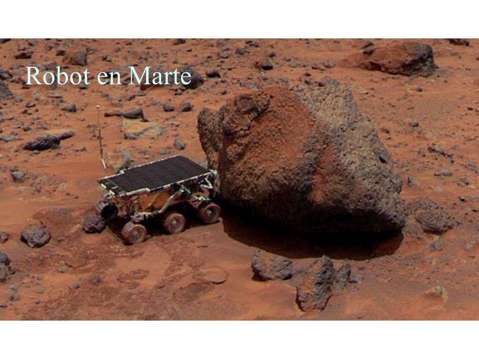 Robot en Marte