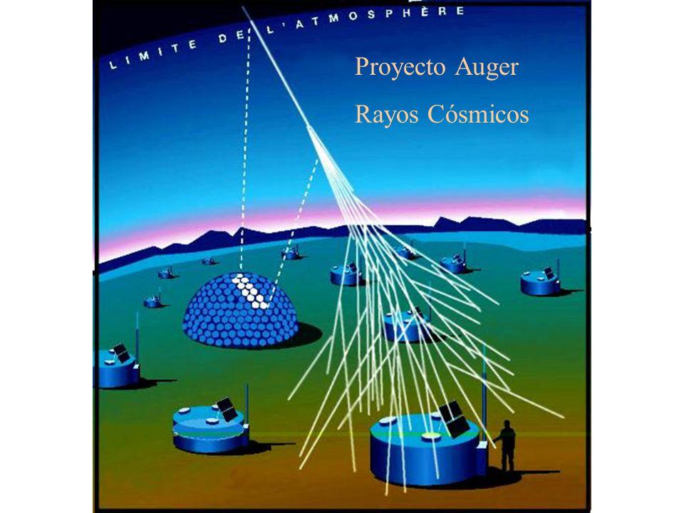 Proyecto Auger Rayos Cósmicos
