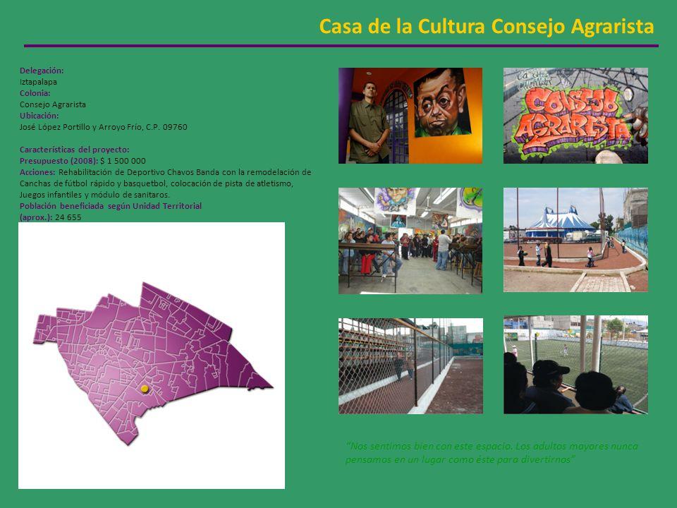 Casa de la Cultura Consejo Agrarista