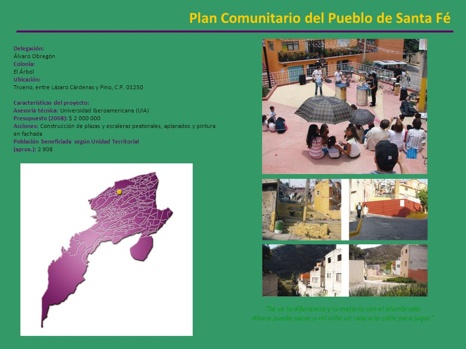 Plan Comunitario del Pueblo de Santa Fé
