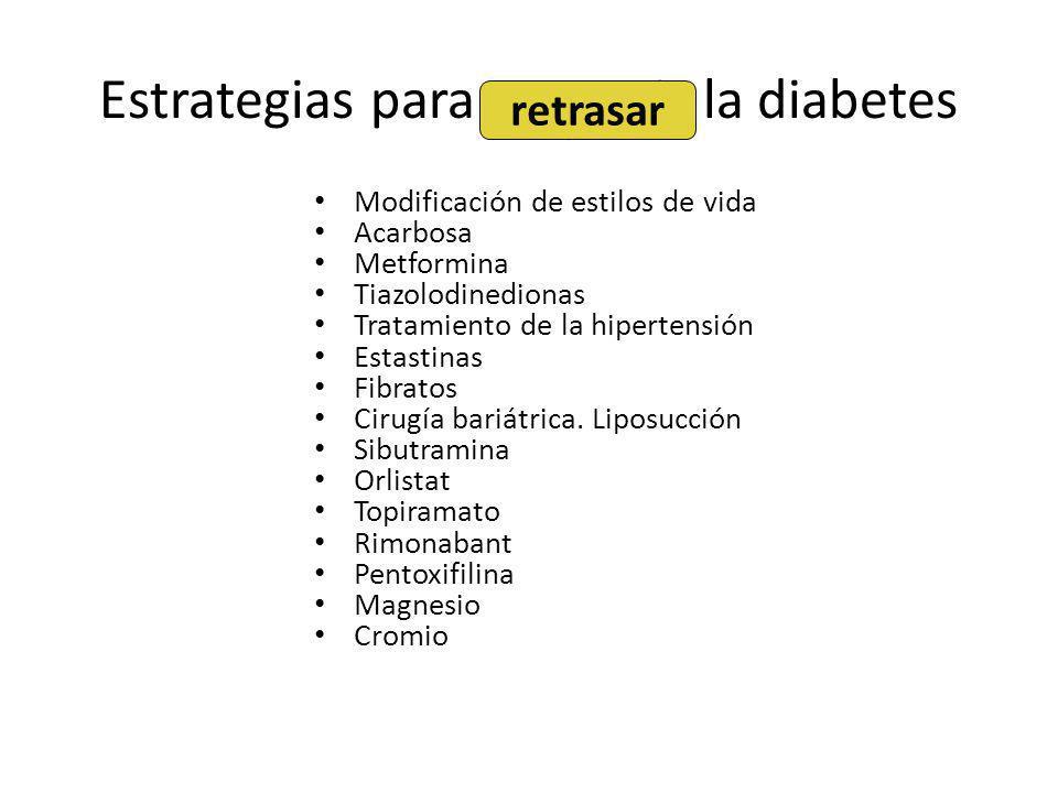 Estrategias para prevenir la diabetes
